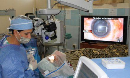 Mormones donan equipo oftalmológico en Guatemala