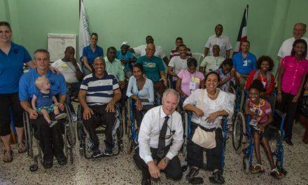 Mormones realizan entrenamiento para discapacitados en República Dominicana