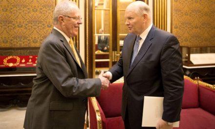 Presidente del Perú se reúne con líderes mormones