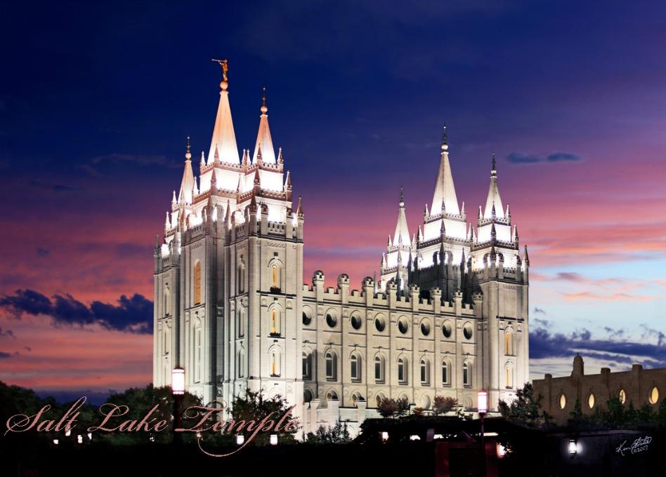 iglesia mormona Templos una casa de Dios