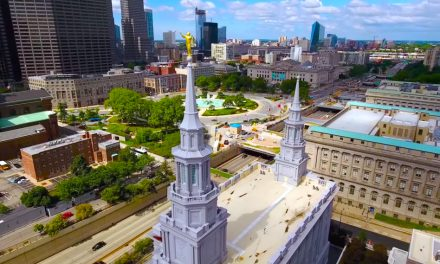 Impresionante vídeo del nuevo templo Mormón de Filadelfia