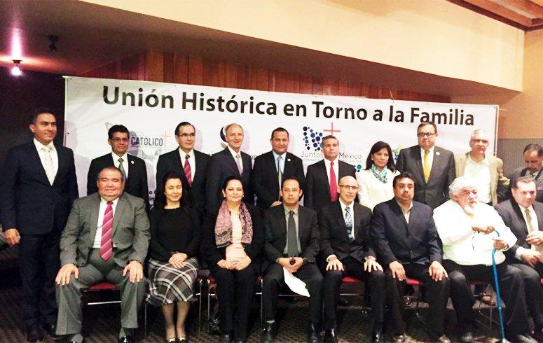 Asociaciones religiosas llaman a marcha en favor de la familia en México