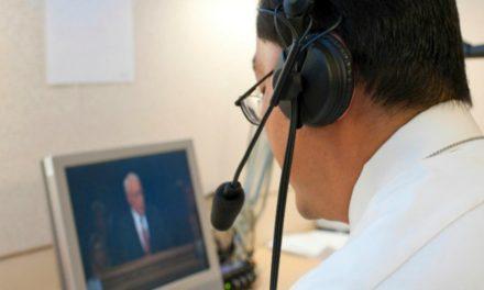 El Equipo de intérpretes para la conferencia general es más grande que en las Naciones Unidas
