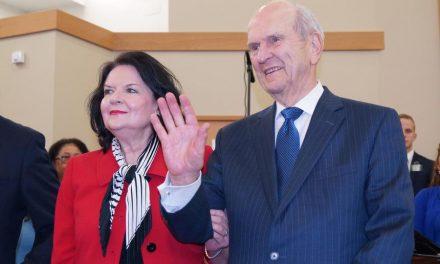 Presidente Nelson visita a los miembros de Europa