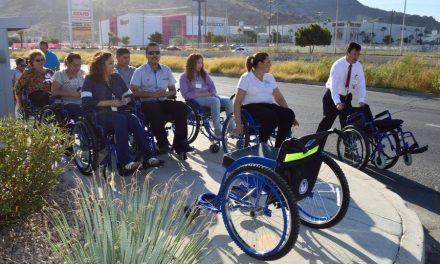 Mormones continúan con las donaciones de sillas de ruedas en México