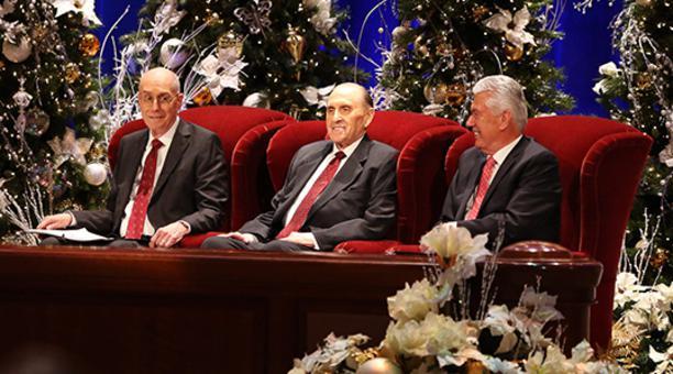 Devocional navideño de la Primera Presidencia