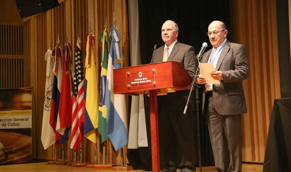 Elder Ronald A. Rasband participa en Foro Sudamericano para la Libertad Religiosa en Argentina