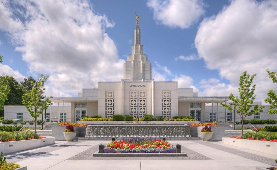 Se anuncia las fechas de rededicación del templo de Idaho Falls