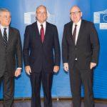 Élder Patrick Kearon en la Cumbre de la Unión Europea
