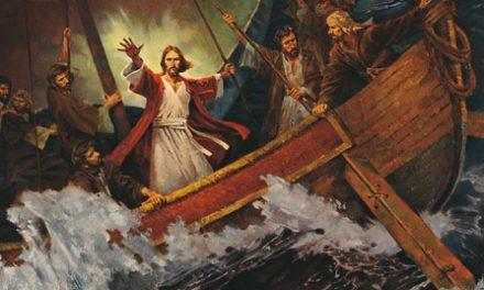 19 de diciembre: Ilumina el Mundo calmando la tempestad
