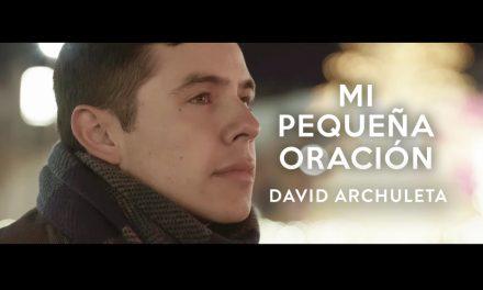 Mira la nueva canción de navidad de David Archuleta en español