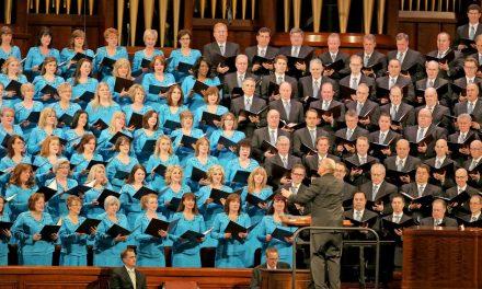 Coro del Tabernáculo Mormón le cantará a la democracia no un presidente en especifico