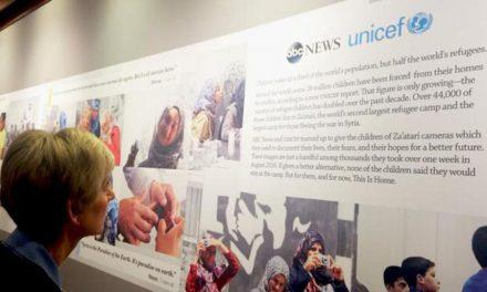 La participación de una líder de la Primaria en UNICEF