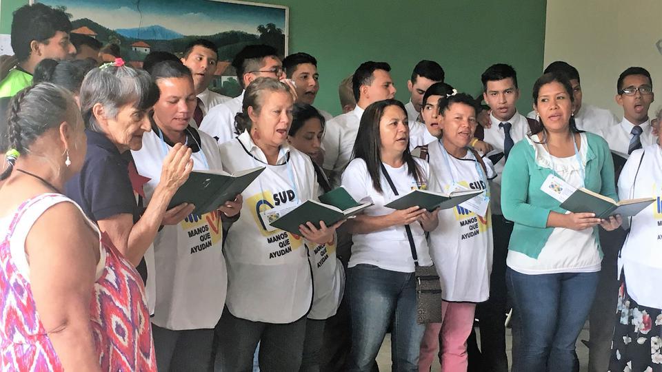 cantar para los ancianos