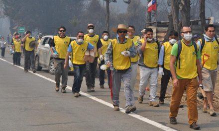 La Iglesia responde ante la emergencia por los incendios en Chile