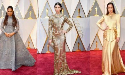 Vestidos modestos en los Premios Oscar 2017