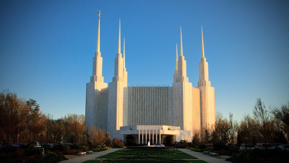 Templo de Washington D.C. Cortesía: mormonnewsroom.org