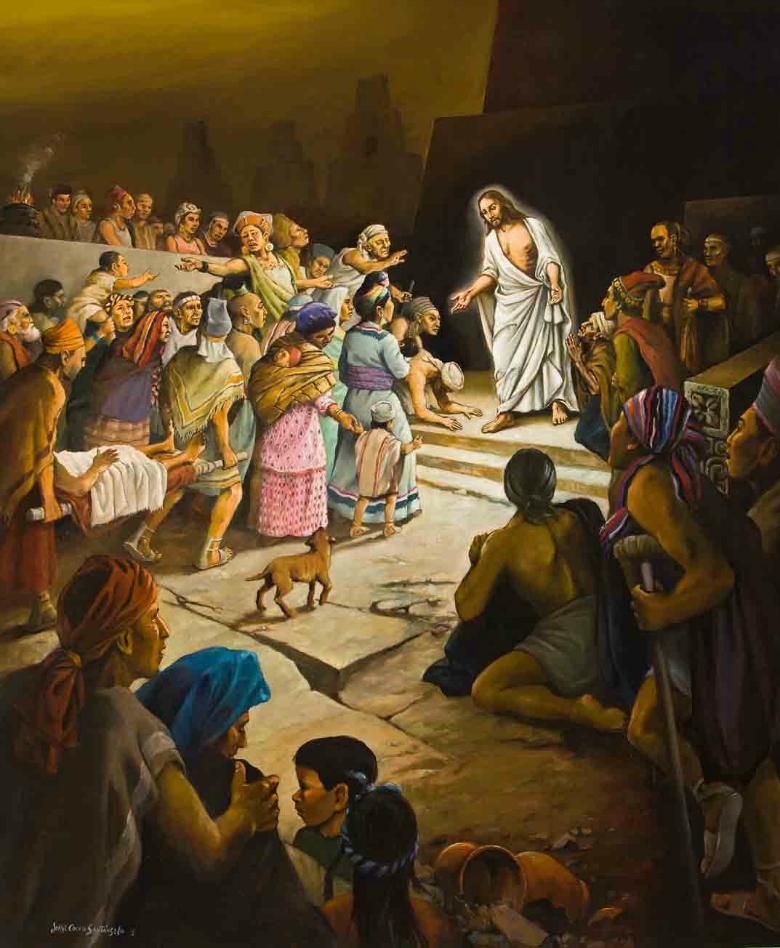 jESUS EN LAS AMERICAS La Arqueología del Libro de Mormón