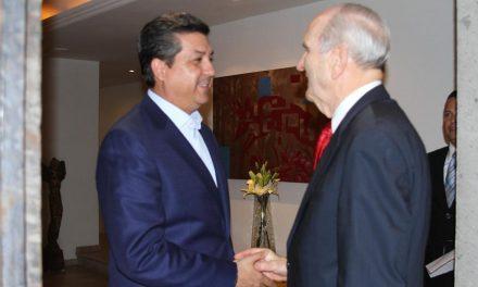 Gobernador mexicano recibe en su casa al Presidente Nelson