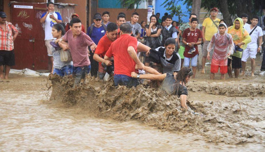 Miles de mormones auxilian a damnificados por desastres naturales en Perú