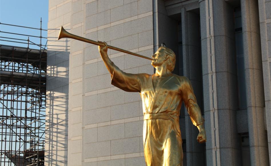 Hoy Se Coloca La Estatua Del Ángel Moroni En El Templo De Barranquilla, Colombia