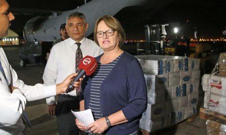 Mormones donan 26 toneladas de alimentos a damnificados por lluvias en Perú