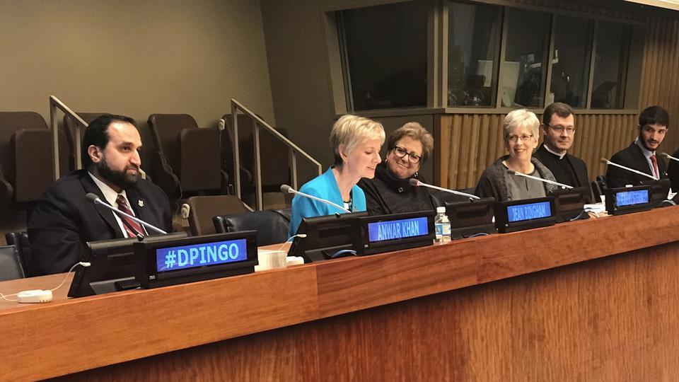 Presidenta General de la Sociedad de Socorro en Naciones Unidas