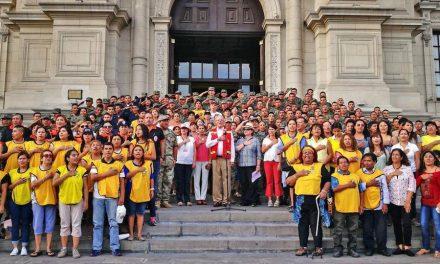 Primera Dama expresa su agradecimiento público para mormones voluntarios en Perú