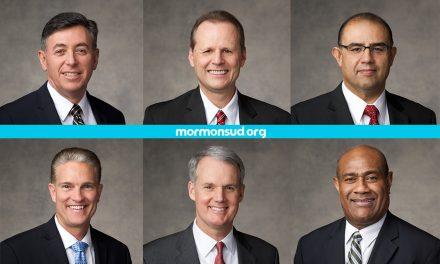 6 nuevas Autoridades Generales anunciadas en la Conferencia General de abril de 2017