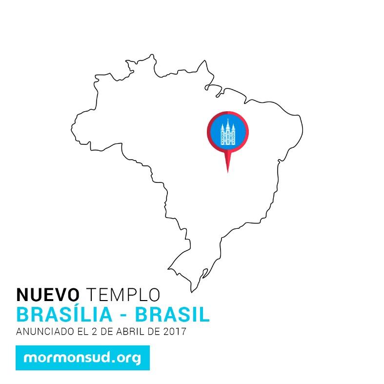 Brasilia, Brasil 5 nuevos templos