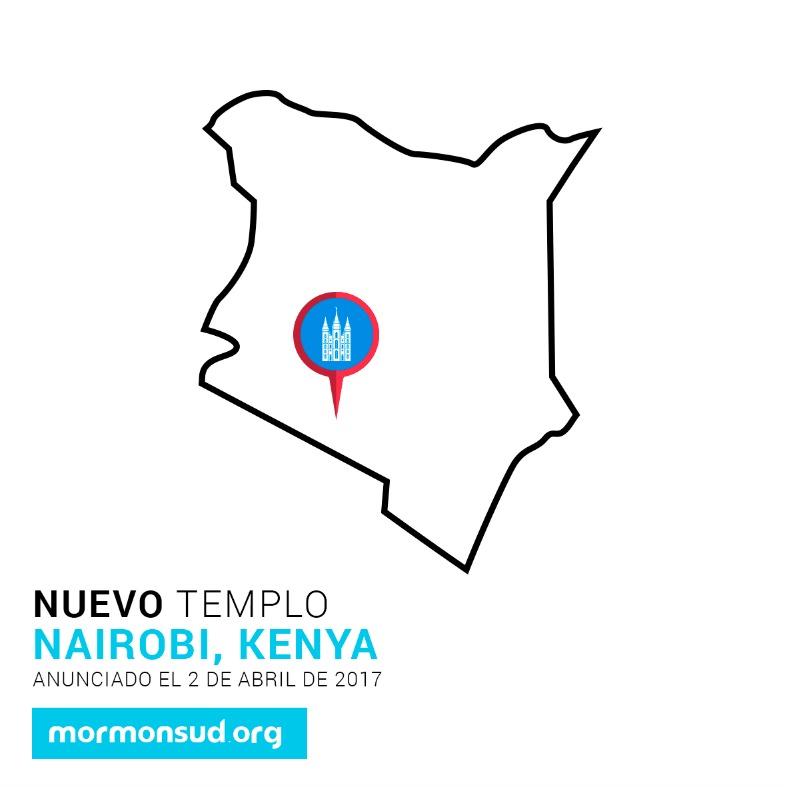 Nairobi, Kenia 5 nuevos templos