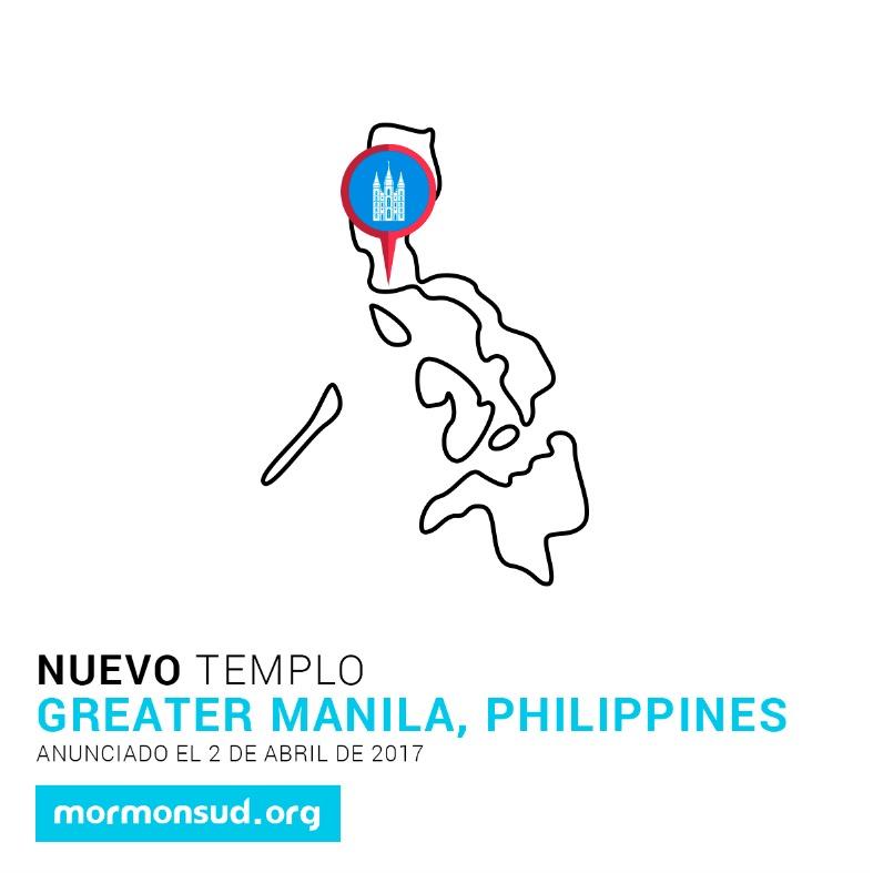 Gran Manila, Filipinas 5 nuevos templos
