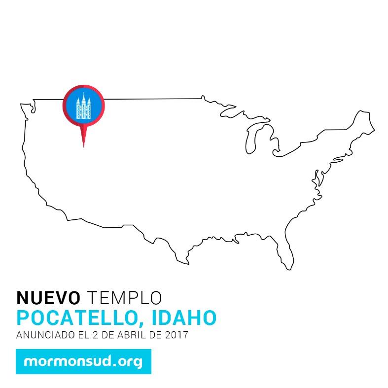 Pocatello, Idaho 5 nuevos templos