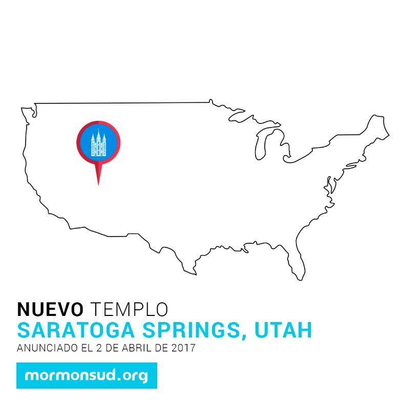 saratoga Springs, Utah 5 nuevos templos