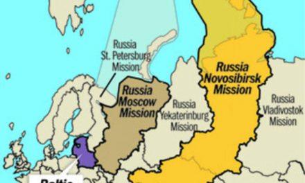 La Primera Presidencia anuncia la fusión de 2 misiones en Rusia