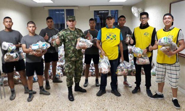 Mormones donan 15 toneladas de ayuda a los damnificados en Colombia