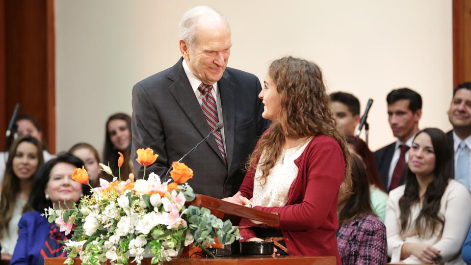 Presidente Russell M. Nelson en Chile y Argentina
