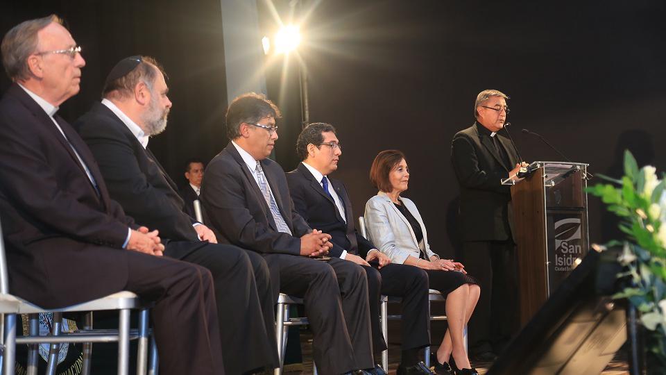Un líder mormón, católico, israelita, y evangélico sostienen una grata reunión en Perú