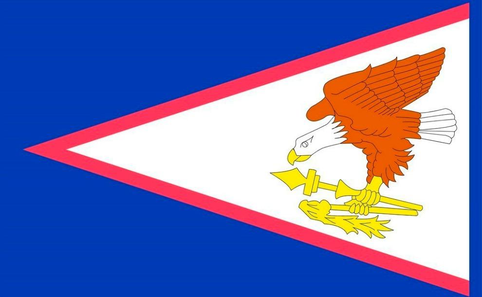 Bandera de Samoa Americana mormon
