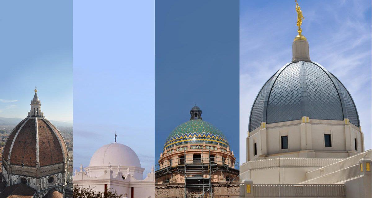 ¿Por qué el último diseño del templo Mormón presenta una cúpula y no una aguja?