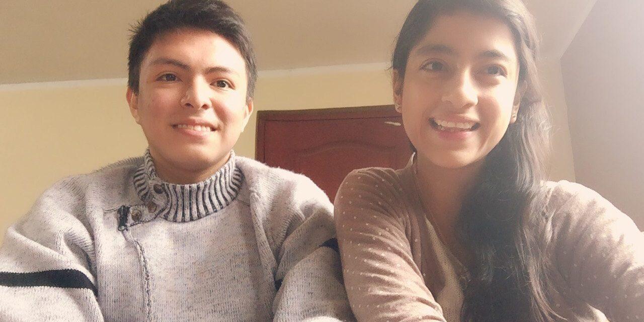 Elías y Ana: Dos jóvenes que comparten el evangelio a través de sus talentos