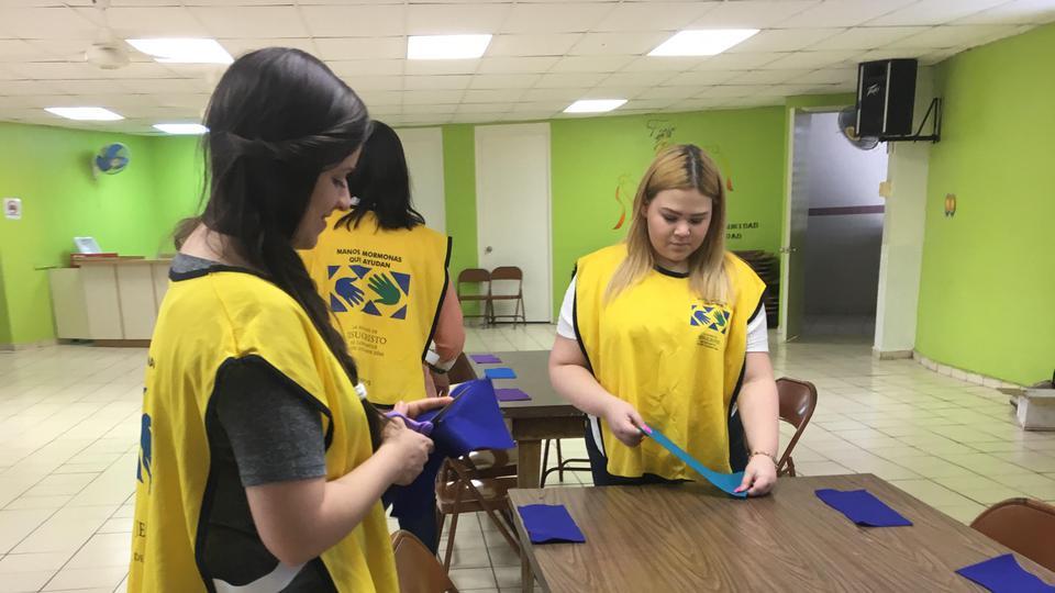 Mujeres mormonas en Puerto Rico