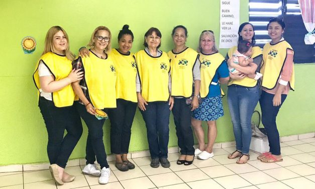 Un  hermoso gesto de amor por mujeres mormonas en Puerto Rico