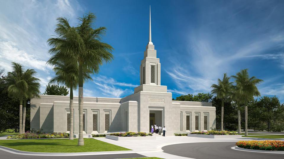 Se inicia la construcción del primer Templo Mormón de Haití