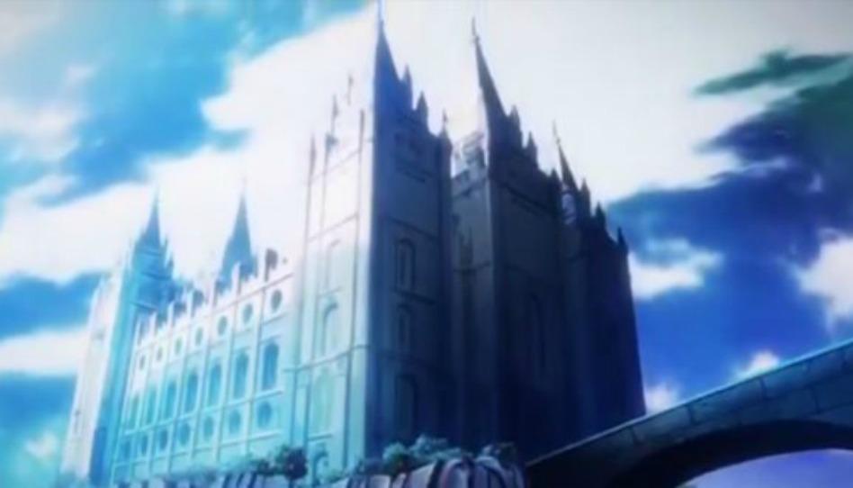 Un Templo Mormón hace aparición sorpresa en anime japonés