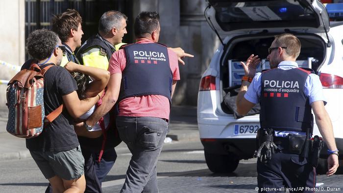 atentados en Barcelona y Cambrils