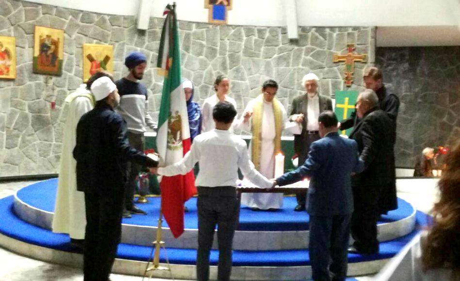 Mormones y otras religiones oran por la Paz y por México