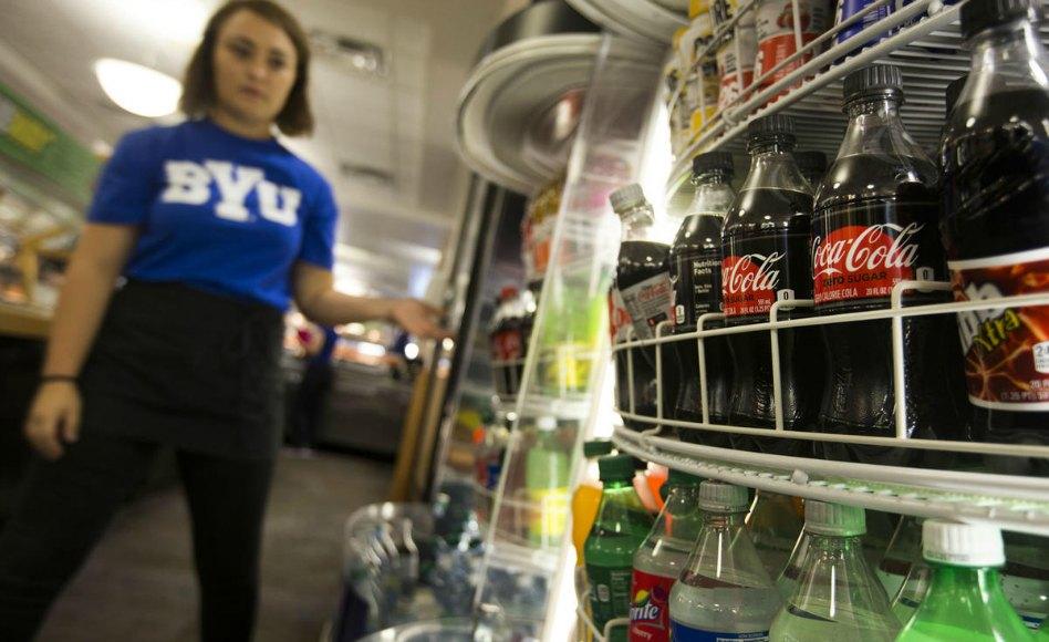 Universidad Brigham Young  vende bebidas cafeinadas Young permitirá la venta de bebidas cafeinadas en su campus