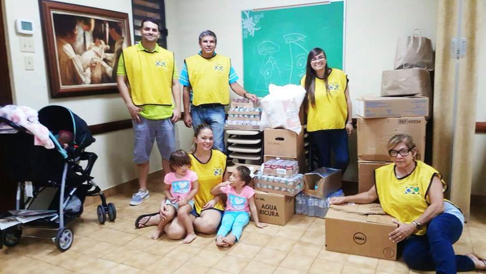 Mormones ayudan a damnificados del huracán en Puerto Rico