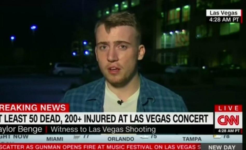 'Soy un firme creyente en Dios ahora': sobreviviente de la masacre en Las Vegas  comparte su experiencia
